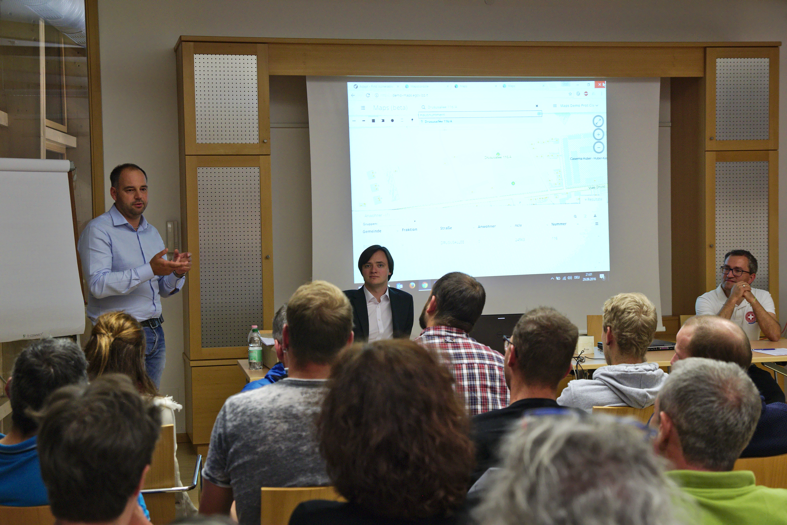 ADAPT project gathers stakeholder feedback at meeting in Klausen